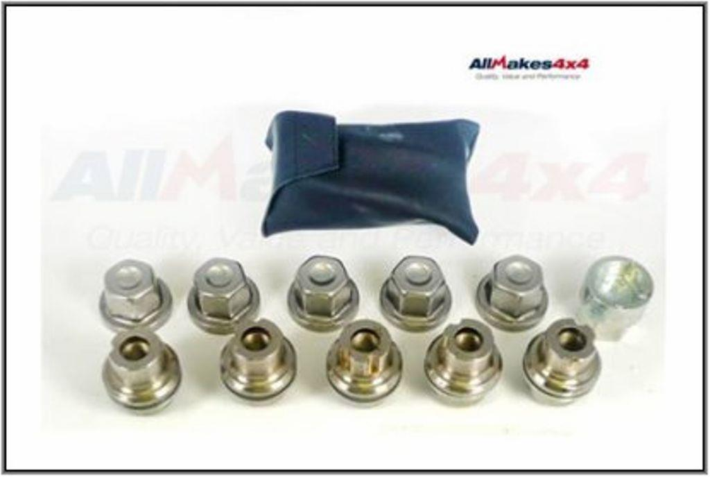 20X LAND ROVER DISCOVERY 1 1994-1999 WHEEL NUT WITH WASHER # RRD500560