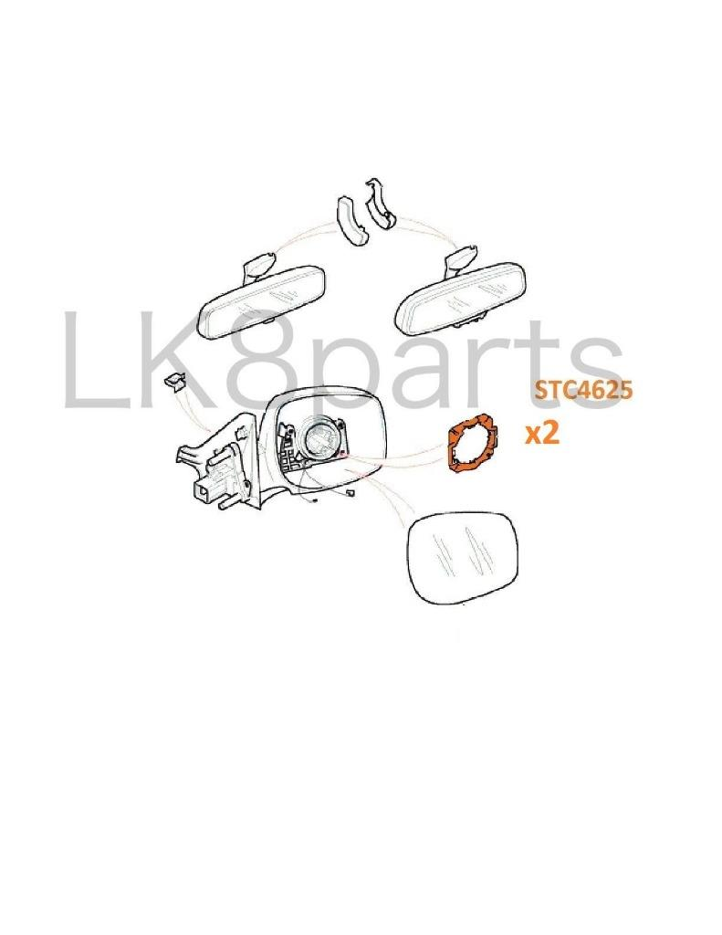 land rover range classic discovery brake  u0026 clutch rubber