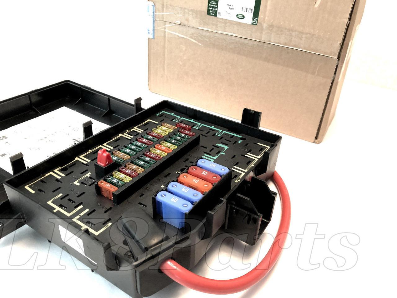 Land Rover Range P38 99 02 Genuine Relay Fusebox Fuse Box On 2007 Need Help Lets Chat Click Here