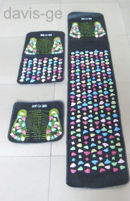 Chinese Foot Massage Walk Stone Leg Massager Mat