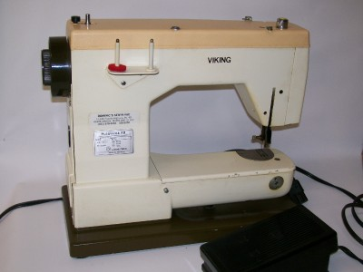 Husqvarna Viking Sewing Machine Model 40 With Case Sm40 EBay Gorgeous Viking Sewing Machine Models