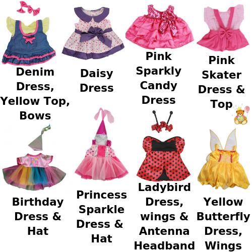 "16/"" Birthday Girl Teddy Bear Tutu and Princess Party Hat Fits Build a Bear"