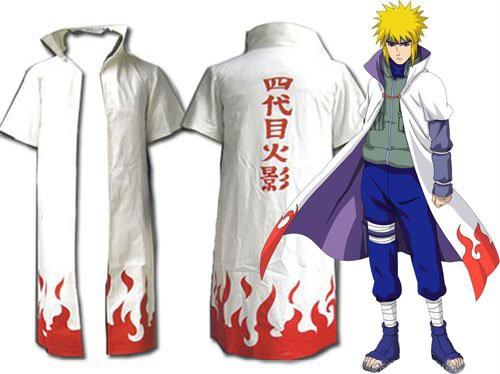 Cosplay Naruto 4th Hokage Minato Namikaze Costume  Cosplay Naruto ...