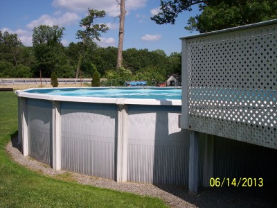 Above Ground Pool Used 27 X 54 Quot New Hayward Pump Amp Filter