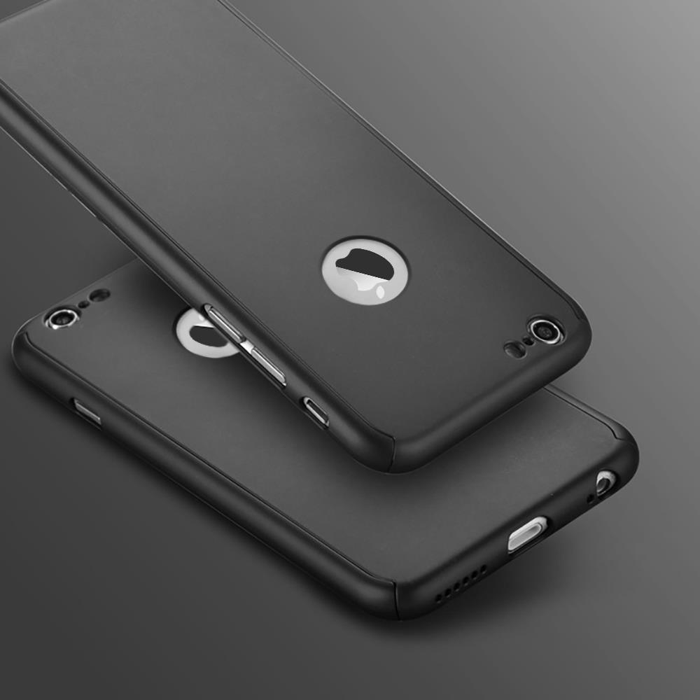 pretty nice 50d90 88ab2 Details about Shockproof Hybrid 360° Hard Case Protective Cover For Apple  iPhone 6S 6 7 8 Plus