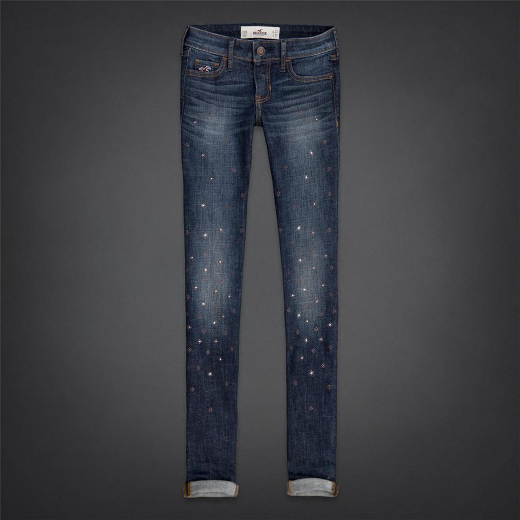 NWT Hollister By Abercrombie Women Super Skinny Jeans ...