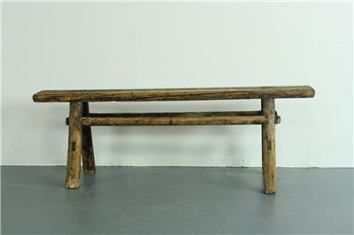 alte rustikal antik vintage h lzernes gewachste pig werkbank klein pb23 ebay. Black Bedroom Furniture Sets. Home Design Ideas