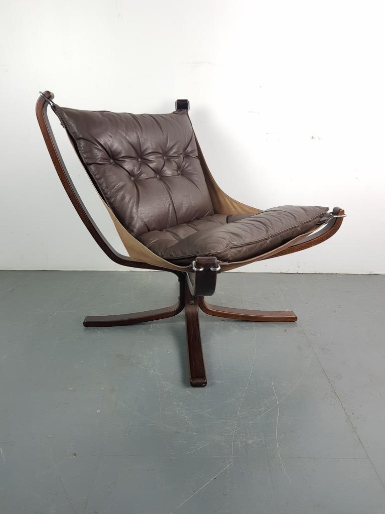 Image Is Loading Danish Falcon Chair Sigurd Res Retro 60s 70s