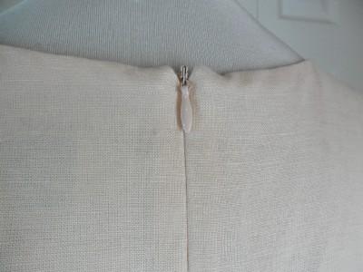 NWT NEW Jessica Howard Long Sleeveless Dress Size 14 Soft Pink Linen