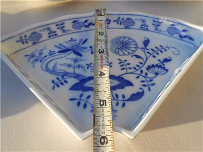 Villeroy And Boch Lazy Susan Blue Onion Replacement Pieces