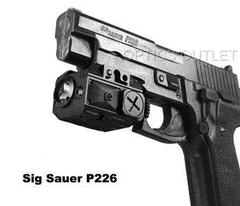 Green Laser Sight Light Combo For Pistols And Rifles Sig