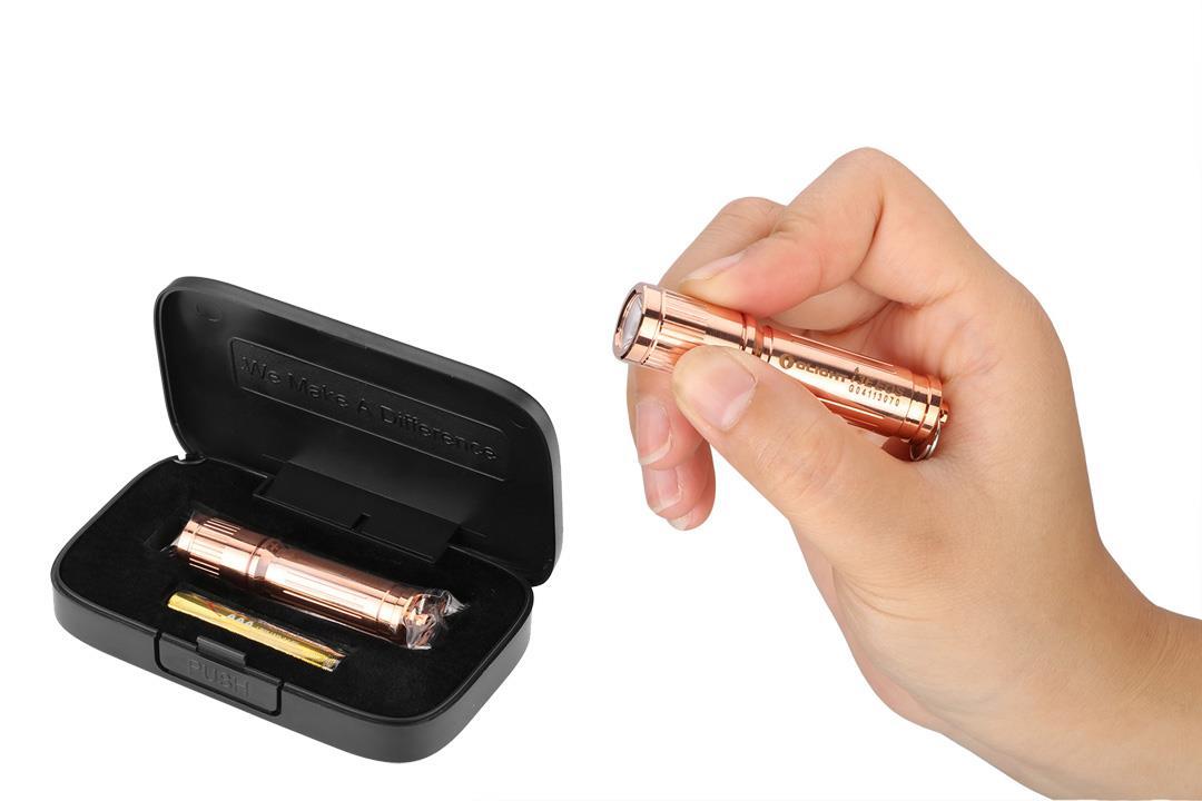 Olight i3E-CU EOS Copper 120 Lumens Keychain LED ...