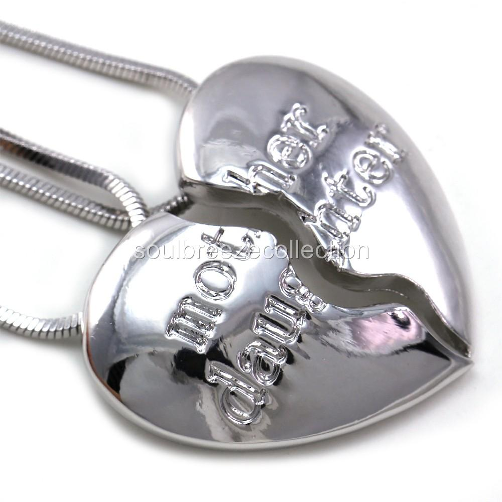 Mothers day gift mom mother daughter heart pendant necklace charm categories cell phone pda accessories necklaces aloadofball Images