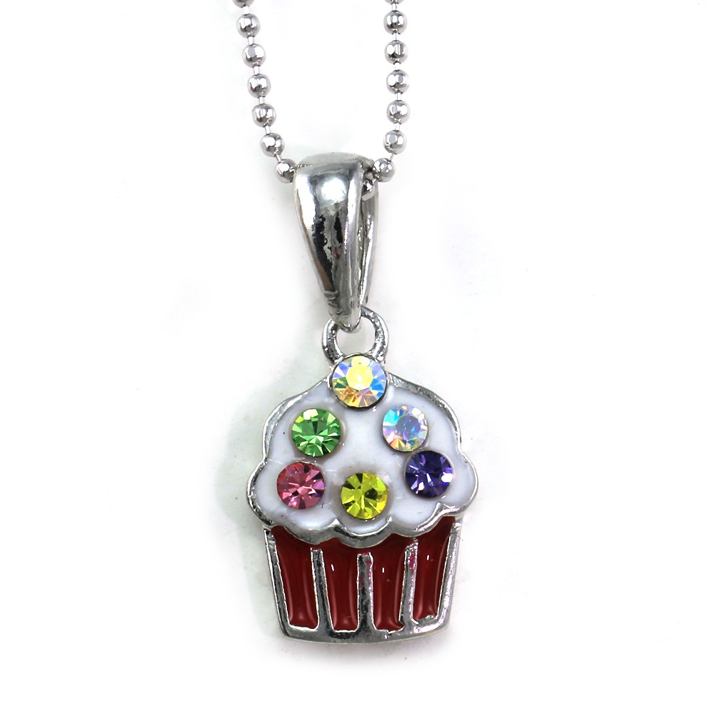 Cook Book Charm Handmade Pendant Necklace Craft Gift Baker Cupcake Cook GBBO