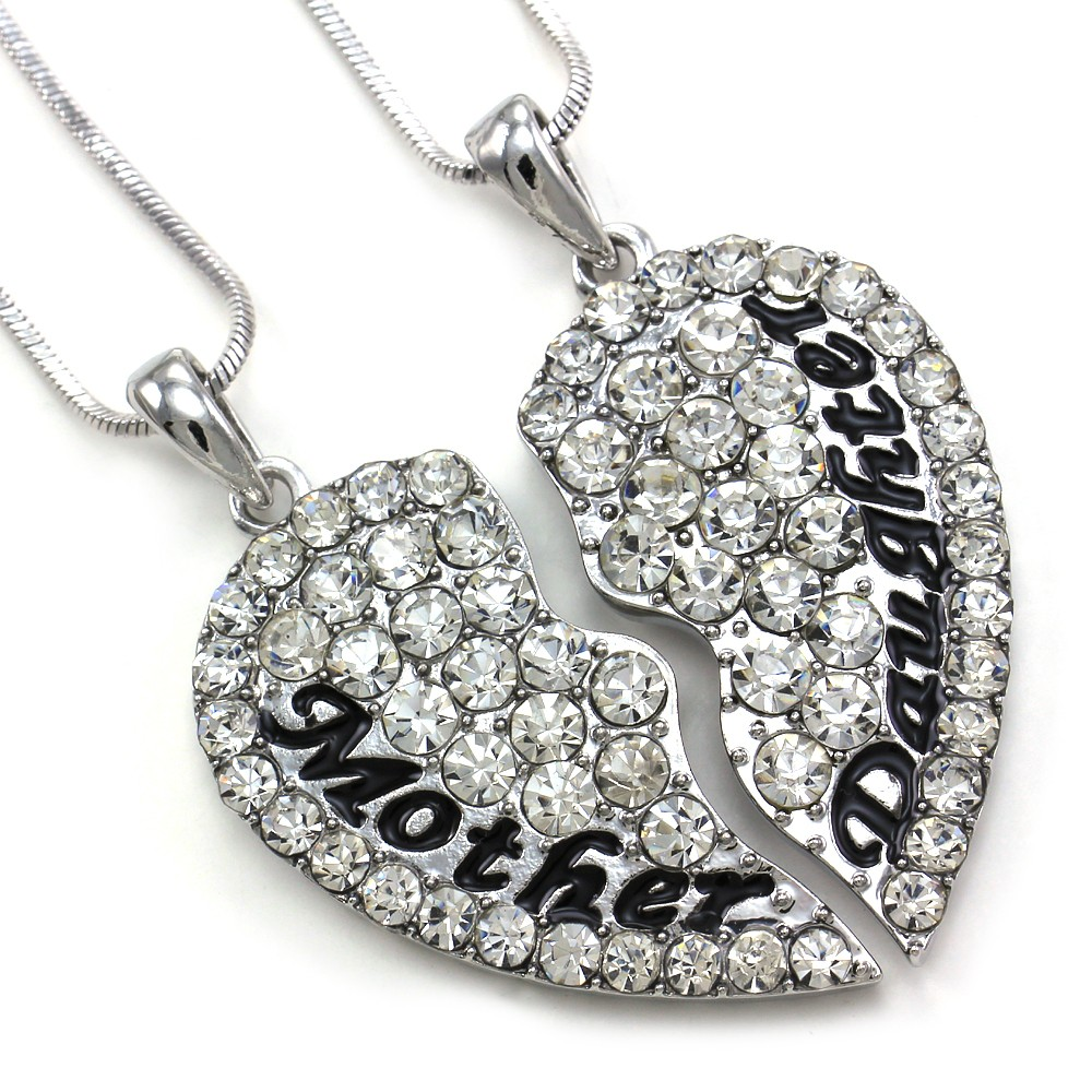 Cute mom mother daughter best friend mothers day heart pendant categories cell phone pda accessories necklaces aloadofball Images