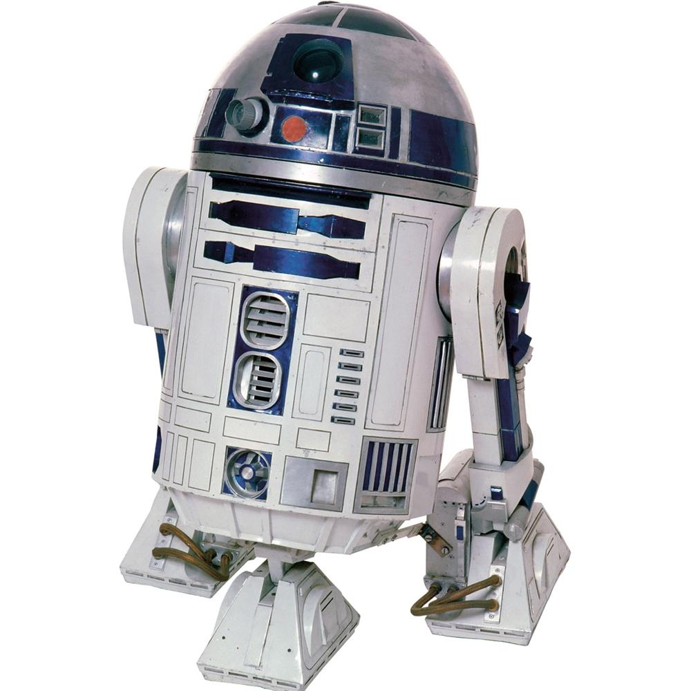 New Giant R2D2 Wall Decals R2 D2 Stickers Classic Star Wars Movie ...