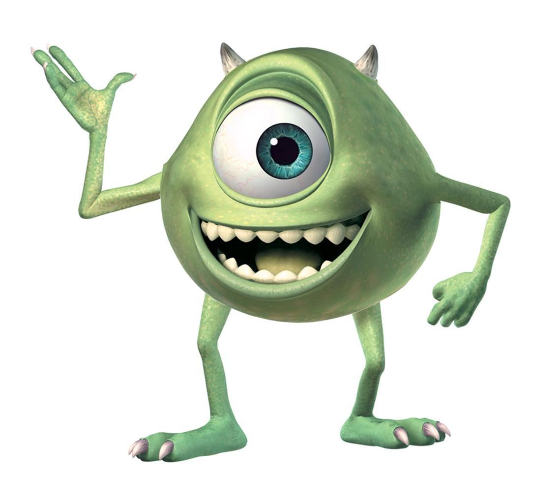 Wall Stickers How To Apply New Giant Mike Wazowski Wall Decals Monsters Inc Stickers