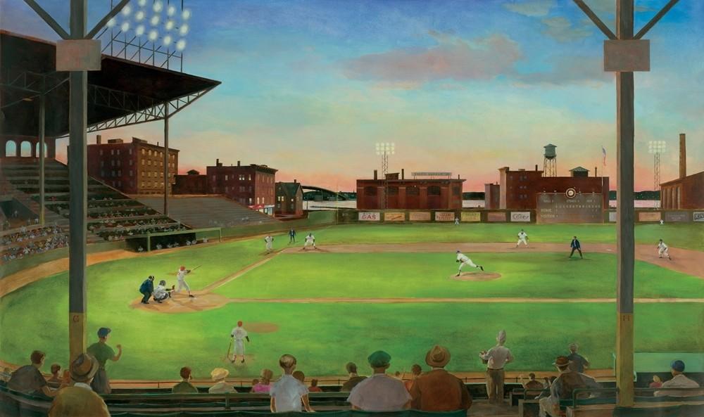 New Xl Vintage Baseball Prepasted Wallpaper Mural Boys