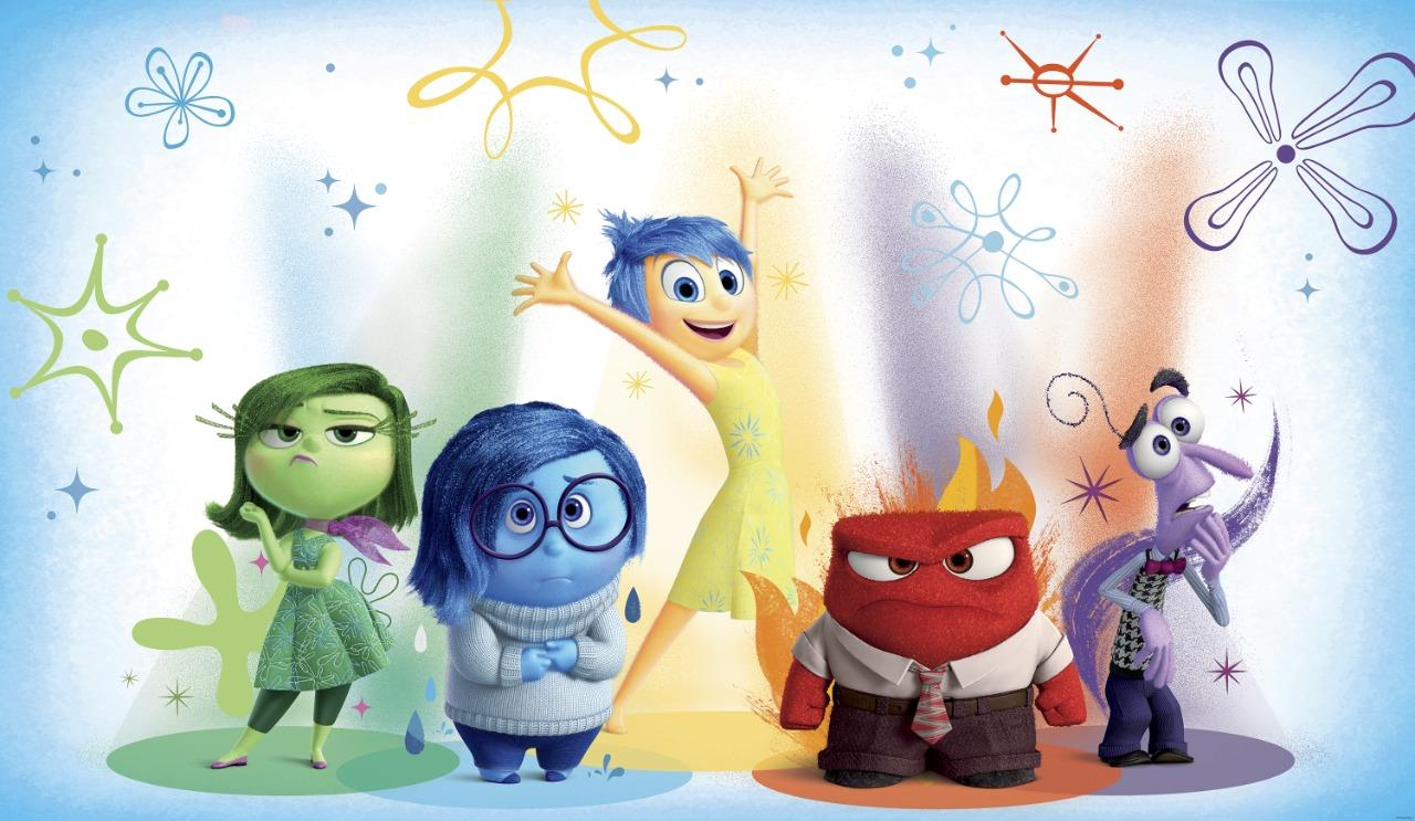New XL INSIDE OUT MOVIE PREPASTED WALLPAPER MURAL Kids