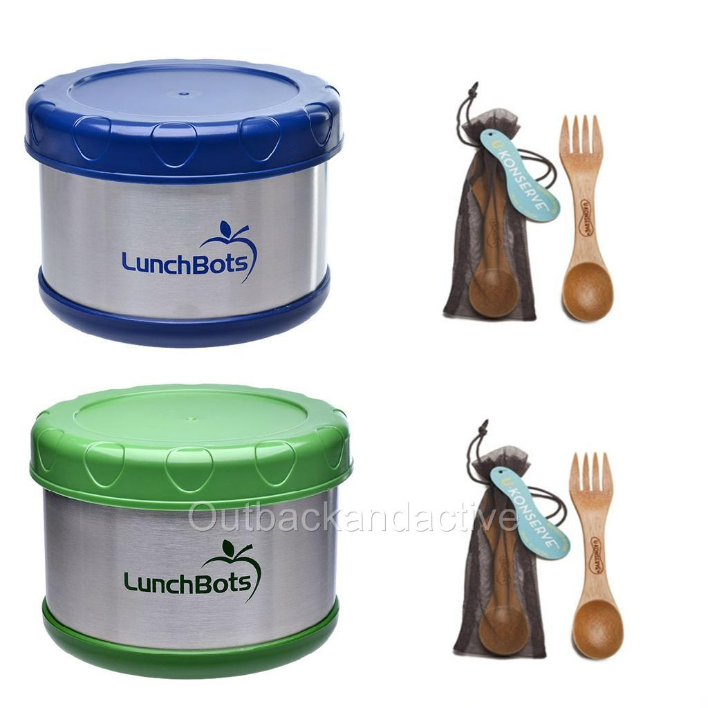 Lunchbots Insulated 450ml Thermos Stainless Steel Lunch