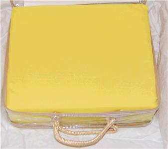 Queen Size Bright Yellow 1200 Thread Count 4 Piece Sheet