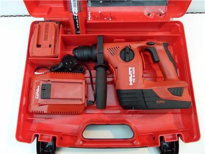 hilti te 4 a22 cordless 22v li on sds rotary hammer drill. Black Bedroom Furniture Sets. Home Design Ideas