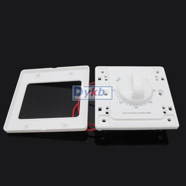60 Minute Timer Countdown Time Switch Control Panel 10a 220v F Water Pump Lamp Ebay