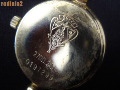 8a3fc7ed9fa Gucci 2700L Black Dial Quartz Gold Wrist Watch Fair Condition on ...