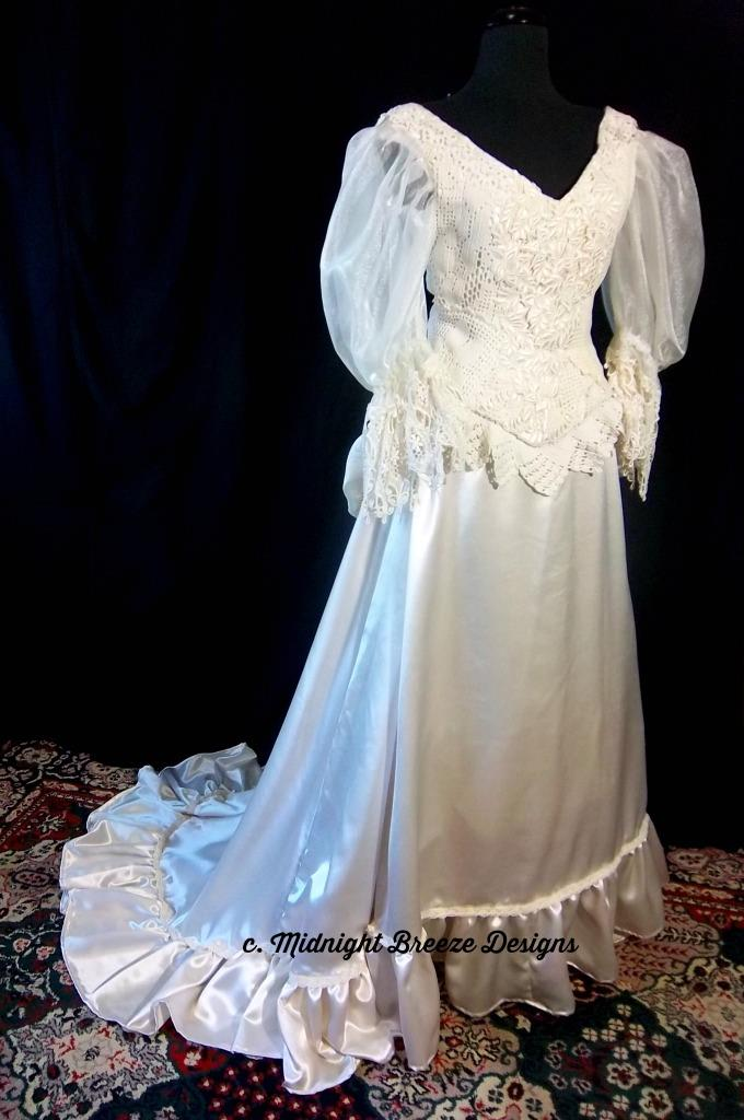 Steampunk Wedding Dress.Details About Ready To Ship Victorian Steampunk Wedding Bridal Gown Dress Ooak Size 8 10