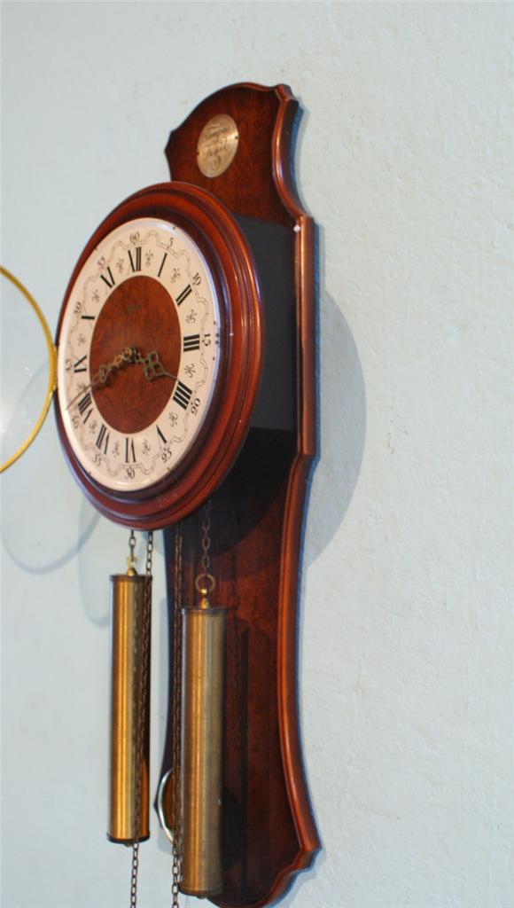 Antique German Wall Clock Free Shipping Fhs Tempus