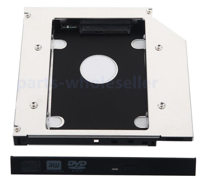 0cef75b4cf99 Details about 2nd HDD SSD Hard Drive Caddy Adapter for Asus K53S K53SV  R501V Optical Drive Bay