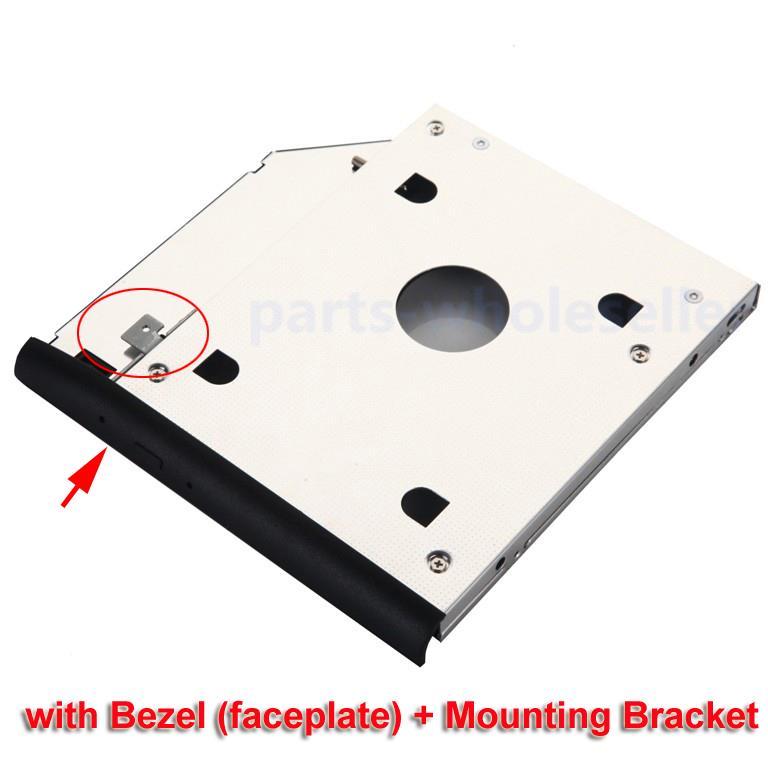 Opticaddy SATA-3 HDD//SSD Caddy+bezel for HP EliteBook 8470p 8470w