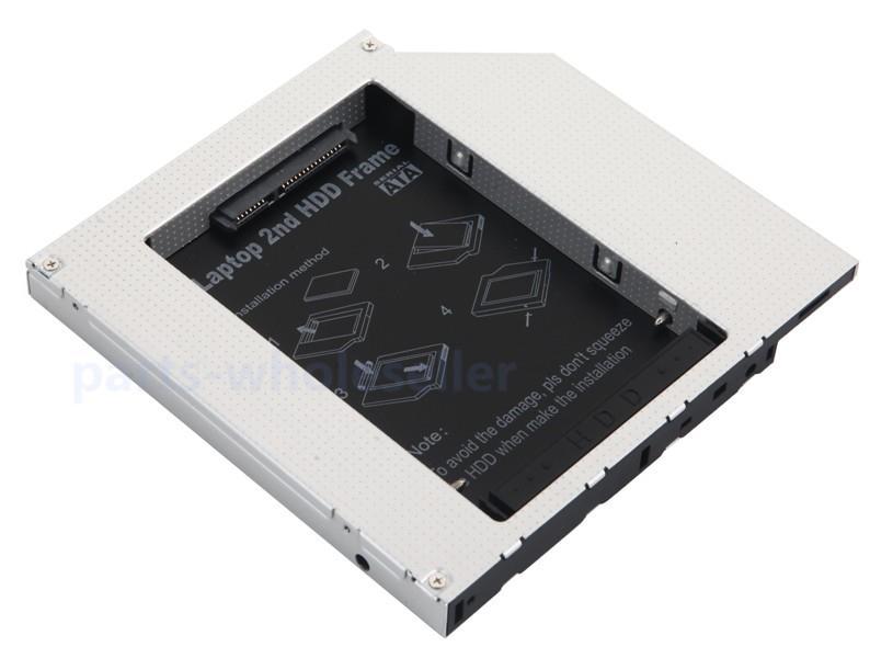 SATA hd hdd hard drive caddy for hp compaq 8510 8510p 8510w 8530p 8530w 8540p QP