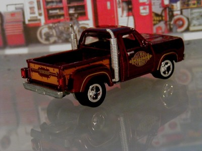 Hot 78 Dodge Ram Pickup Truck Red Express Limited Edition 1/64 Scale