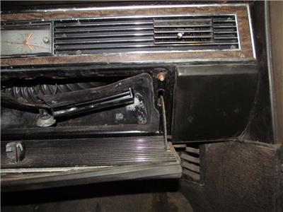 lincoln fuse box rh fuse box dash cover 1967 1968 1969 lincoln continental ...