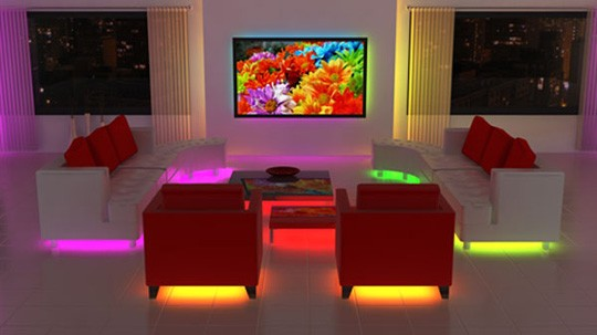 Furniture Sofa Bed Underglow Led Light Rgb Kit Ebay