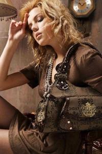 G/&R Designer Hobo Shoulder Bag 9026 Black