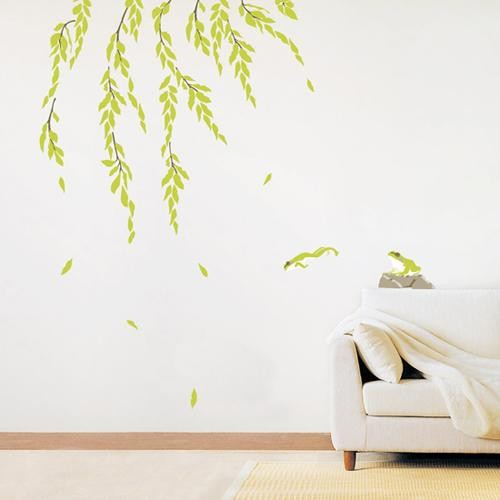 Under the Willow Tree WALL Removable Adhesive STICKERS