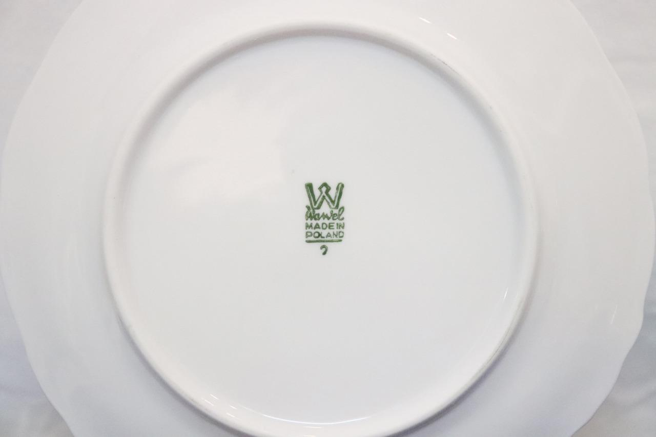 Vintage-Wawel-Enchanted-Rose-Garden-Cream-Soup-Salad-Bowl-Made-in-Poland-China thumbnail 3