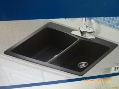 Pegasus Double Bowl Composite Granite Kitchen Sink