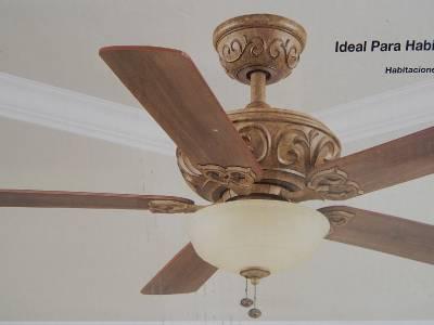 Hampton Bay 730588 52 Quot Palisades Ceiling Fan Light Tuscan