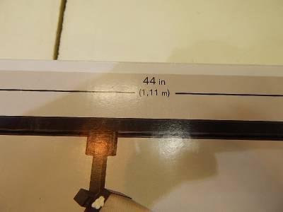 Lot of 2 Hampton Bay 540102 3 Light Linen Glass Linear Track Kit Black 22914