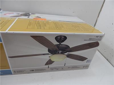 Hampton Bay 791647 52 Quot Gazebo Ii Plus Ceiling Fan W Light