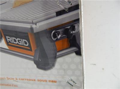 ridgid r4021 7 quot  table top wet tile saw 745084 z01 ebay