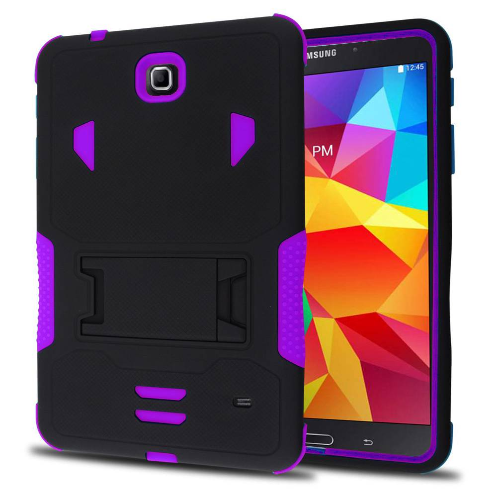 differently e93c6 4a66a Details about Heavy Duty Stand Case Armor Box Cover for Samsung Galaxy Tab  4 7 Inch 7.0 T230