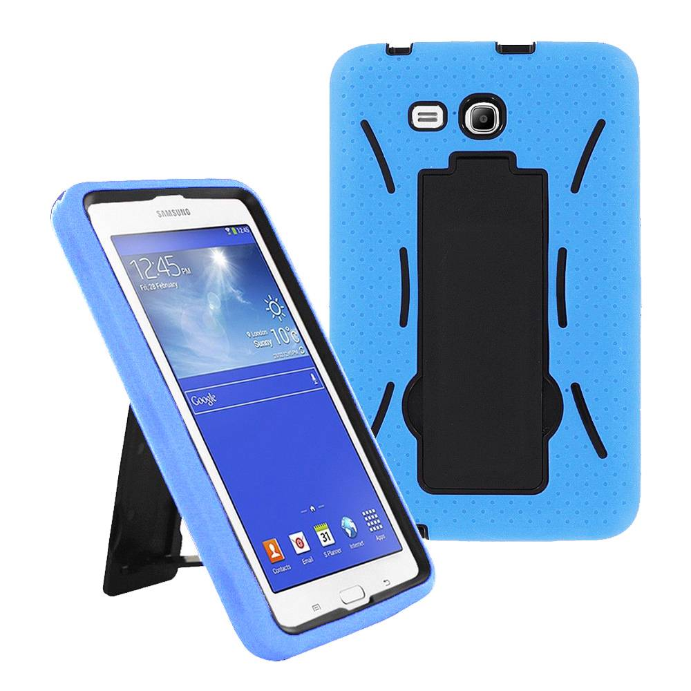 Hybrid Case Rugged Stand Shockproof Box Cover For Samsung Galaxy Tab 3 Lite 7 0 Ebay