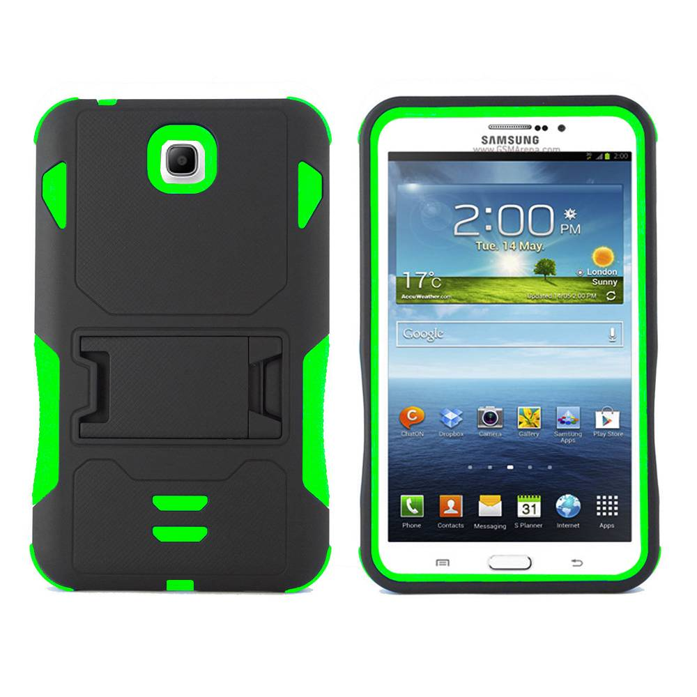 rugged box stand case cover for samsung galaxy tab 3 7 0 7 inch t210 p3200 p3210. Black Bedroom Furniture Sets. Home Design Ideas