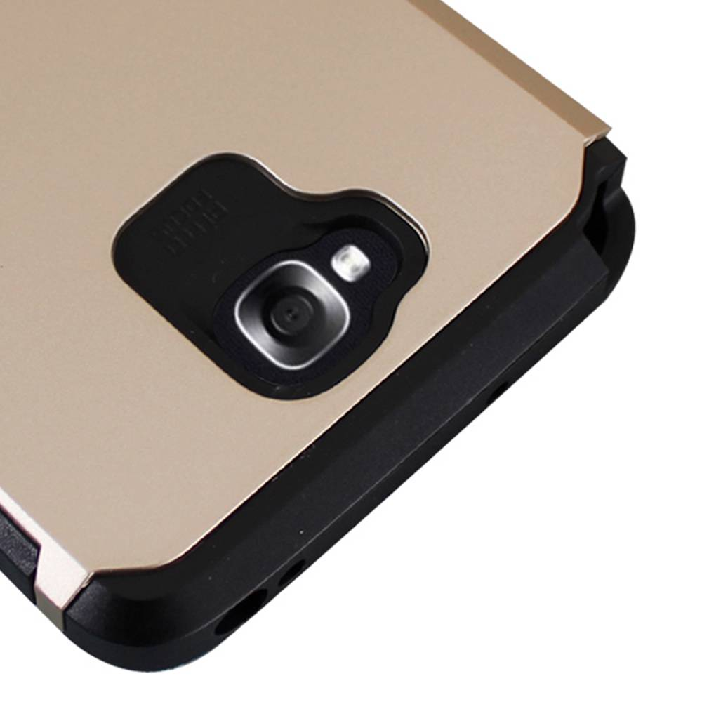 Gold Dual Layer Armor Hard Box Case Protector Cover For Lg G Pro Lite D686 Black D682 D680