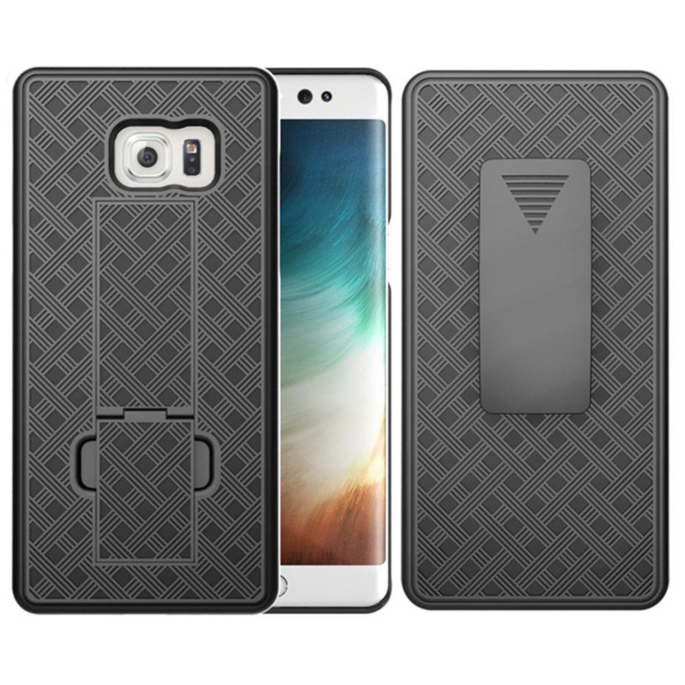 3215861efa4 Caja negra pata caso cubierta + Cinturón Clip funda soporte para el teléfono  Samsung Galaxy