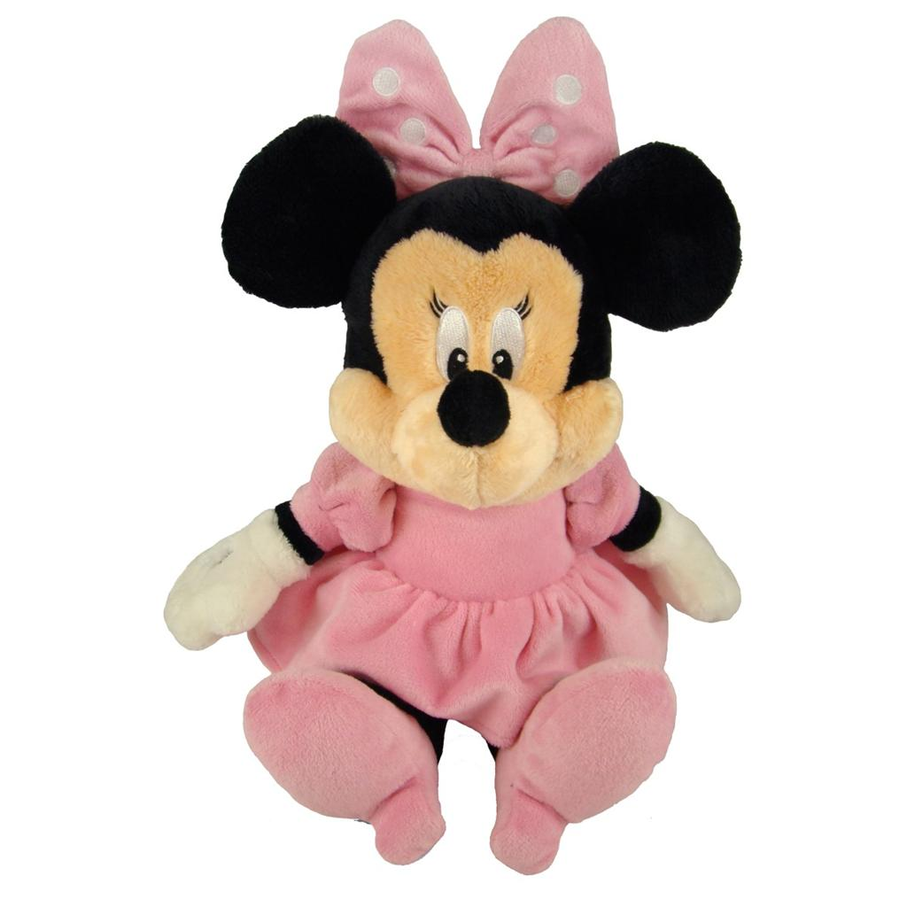 Disney Baby Minnie Mouse Plush Soft Toy With Chime